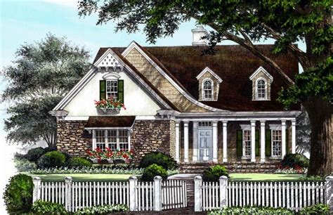 european cottage house plans cottage country craftsman european house plan 86223