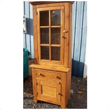 small china hutch wood small stepback cupboard reclaimed
