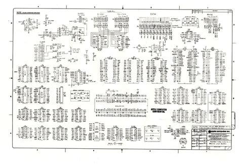 diagrams on mac digibarn diagrams original macintosh 512k logic board