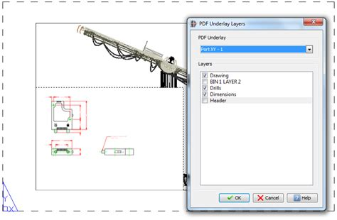 corel draw pdf layers adding pdf to the cad workflow pdf underlay in corelcad