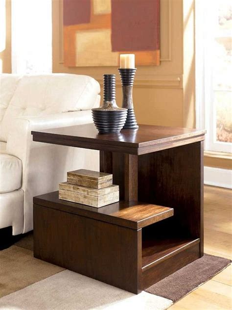 luxury living room decors with tapered round plain living room side table home design plan