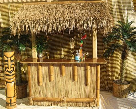 tiki bar top ideas cute bamboo tiki bar best home decor ideas build