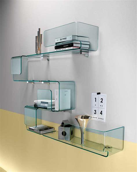 Mensole Di Vetro Per Arredamento Mensola Foulard Di Fiam Design Studio Klass Arredamento