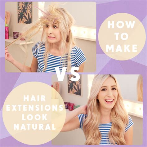 how to make hair extensions look real how to make hair extensions look hair extensions