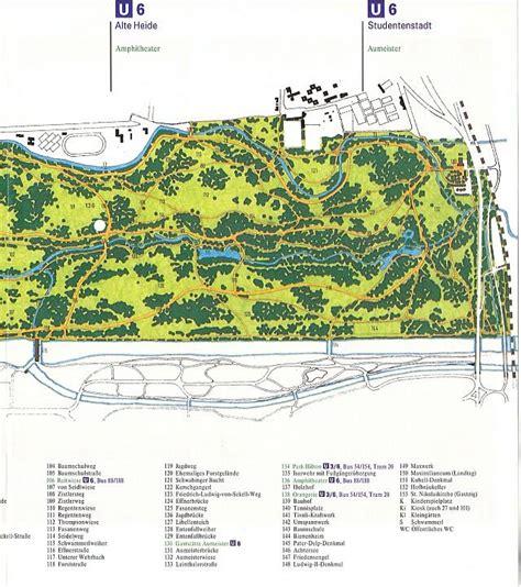 Plan Englischer Garten München Nordteil by Ein Erfinder Und Seine Pl 228 Ne