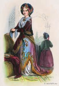 Ottoman Empire Fashion Turkish Noble 1843 Ottoman Empire Costumes Archive Costume And Fashion History
