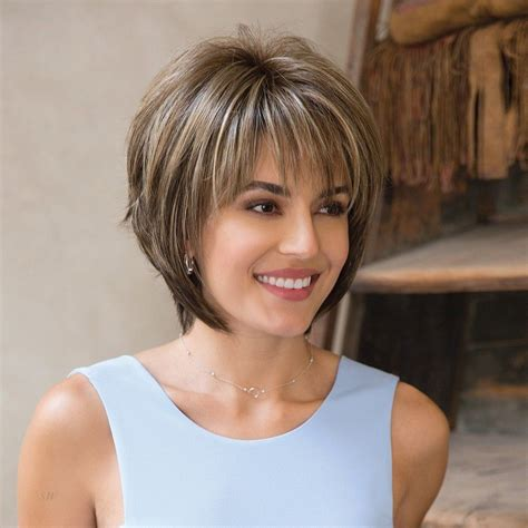 frosted hair short hair bobs reese part mono wig rene of paris