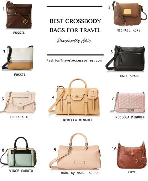 most comfortable handbags cross body travel bags for women best travel shoulder bags