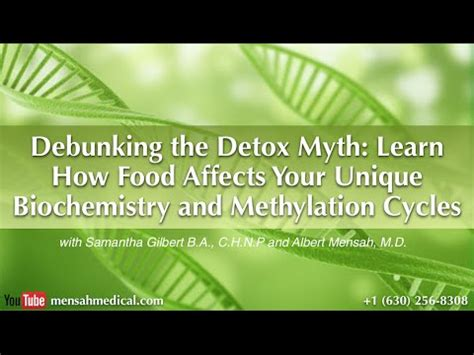 The Detox Myth by Debunking The Detox Myth Learn How Food Affects Your
