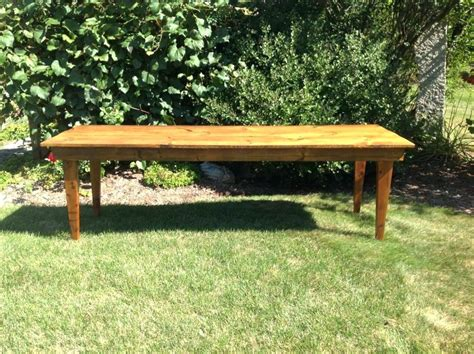 harvest table bench plans outdoor harvest table rustic reclaimed barn wood harvest