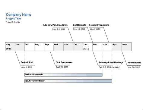 Engineering Project Template Word Engineering Project Timeline Template Free Excel