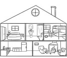 haus ausmalbild casa por dentro para colorear por los ni 241 os dibujos de