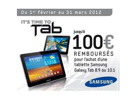 Tablet Samsung Promo promo samsung galaxy tab 8 9 10 1 jusqu 224 100 rembours 233 s ilovetablette
