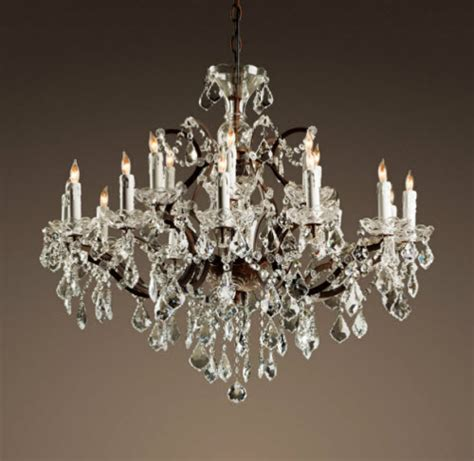 restoration hardware chandelier restoration hardware 19th century rococo iron
