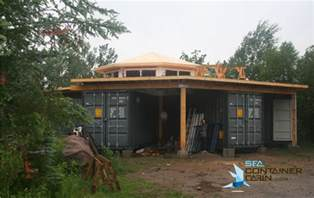 Octagon Log Homes Jason Author At Sea Container Cabin
