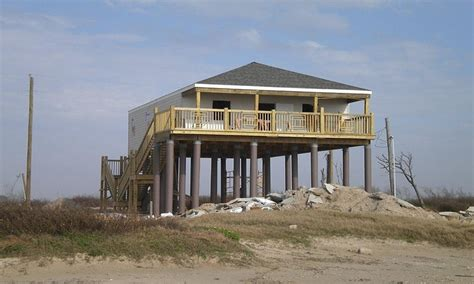 Homes On Pilings | beach house on pilings foundation modular beach house on