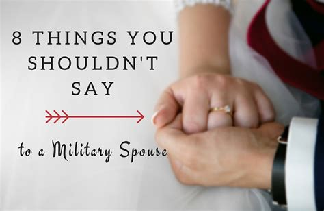 8 Things To Say During by 8 Things You Shouldn T Say To A Spouse Vfw