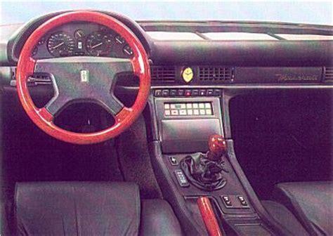 maserati biturbo interior maserati racing