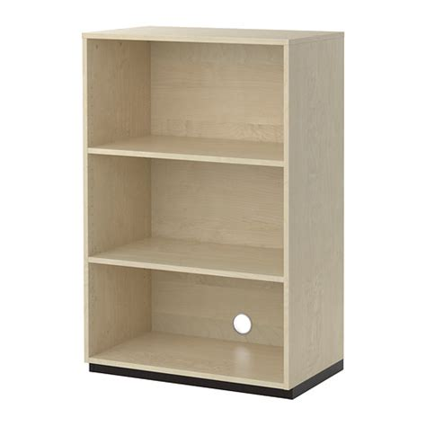 galant shelf unit birch veneer