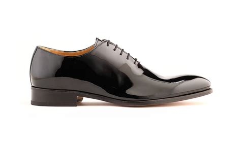patent oxford shoes wholecut oxford shoes in black patent italian leather