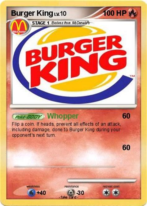Free Burger King Gift Card - burger king pokemon cards images pokemon images