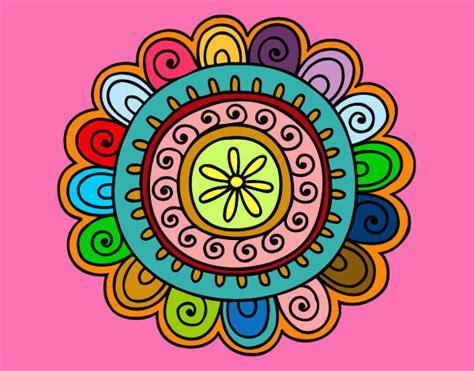 imagenes mandalas de colores mandalas ya pintados de colores imagui