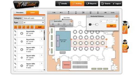 wedding floor plan app planners can now add furniture to allseated event floor plans successful meetings