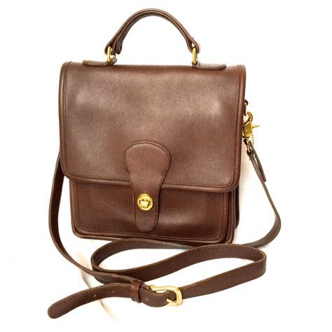 This Is A Coach Bag It Was Handcrafted In China - vintage coach classic station bag in brown leather