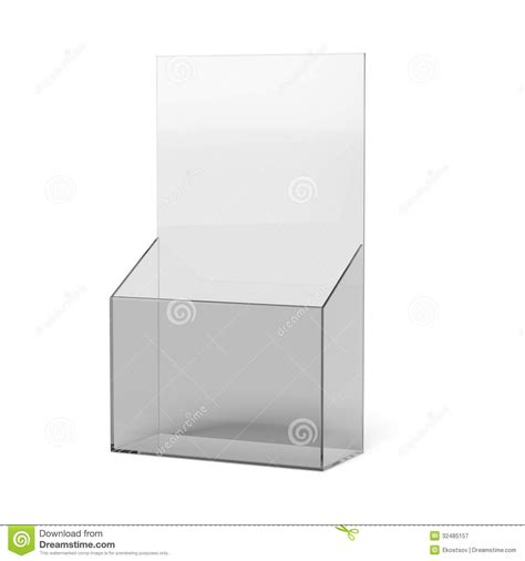 brochure holder template blank brochure holder royalty free stock photography
