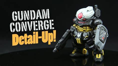 Converge Grimoire 989 gundam converge grimoire detail up
