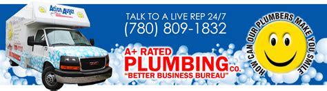 Plumbing Company Edmonton by Edmonton Plumbers 24 Hr Plumbing Auger