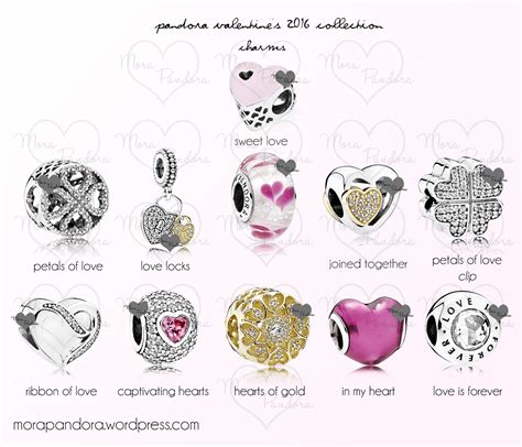 valentines pandora charms pandora s day 2016 collection preview mora pandora