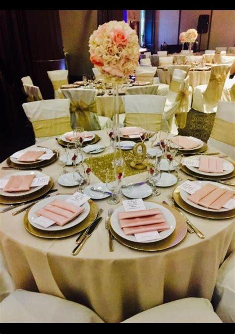 Gold & Blush Wedding Decor   Wedding Decoration   BravoBride