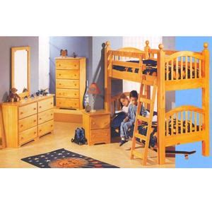 Elite Bed 180 Set bunk bed sets bunk bed set in warm honey 350 180 pr