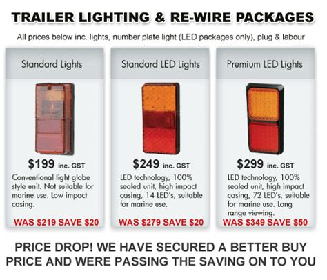 led trailer light wiring led trailer lights wiring