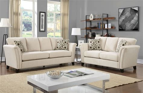 ivory living room furniture dalton ivory fabric sofa collection