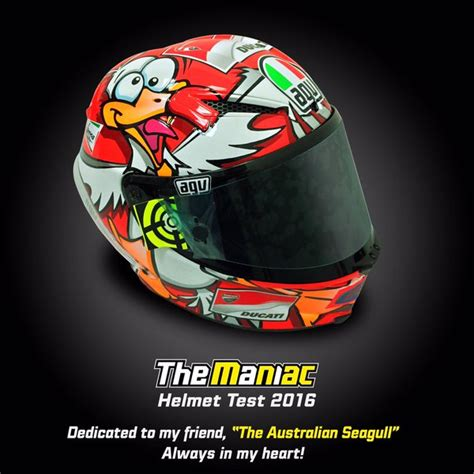 design helmet iannone rossi and iannone show off new helmets stoner rides at