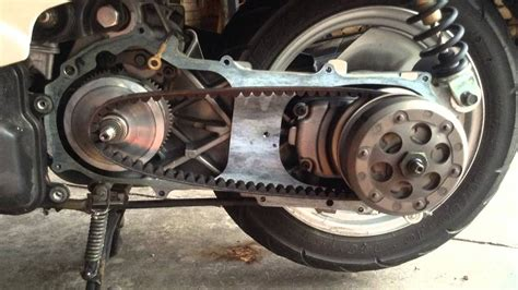 Yamaha Vino 49cc Speed Limiting Variator Spacer Removal