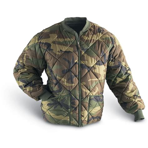 design camo jacket military style insulated diamond quilted flight jacket