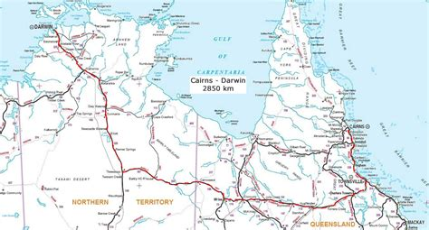 Garnet Mt australian road maps and expeditions