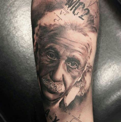 einstein tattoo 15 albert einstein tattoos tattooblend