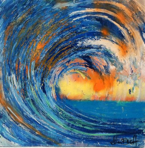 Drawing Or Painting by Official Of Artist Adam Brett Abstract Surf