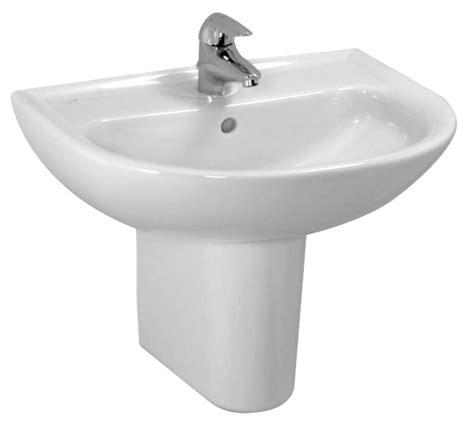 pedestal bathroom basins laufen pro b basin half pedestal uk bathrooms