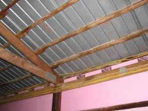 Red Barn Framing Metal Roof Pole Barn Metal Roof Insulation