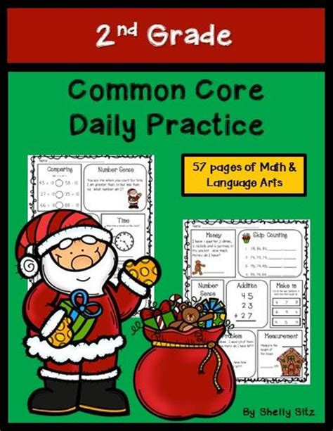 17 best images about christmas math for second grade on