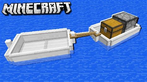 connect boats for a boat train in minecraft youtube - Minecraft Boat Train
