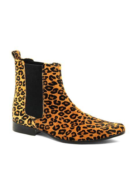 mens leopard print boots mens leopard boots 28 images ymc leopard desert boots