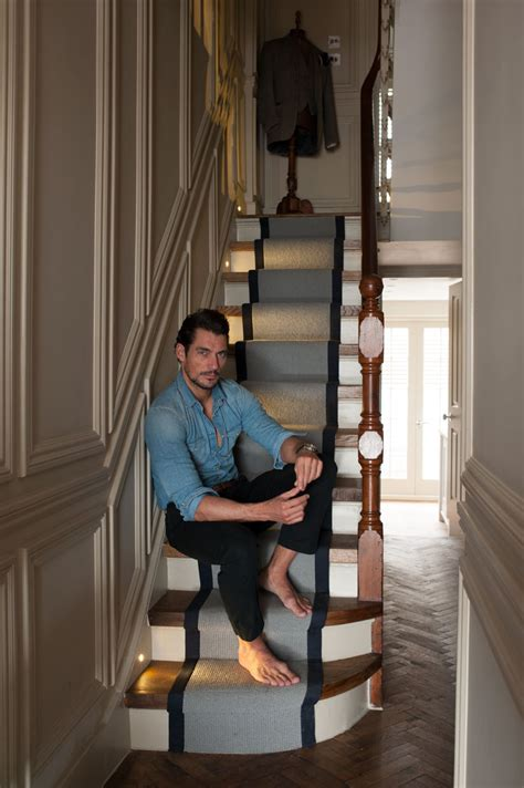 at home with david gandy the home