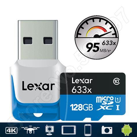 Microsd Lexar 16gb Class 10 lexar 633x microsd 16gb microsdhc 32gb class 10 64gb