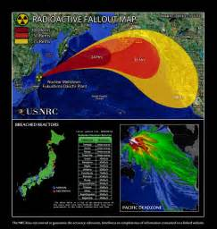 us radiation fallout map mapping participating fukushima radiation maps scoop it